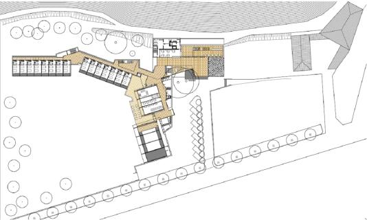 planta baixa hotel Rialp